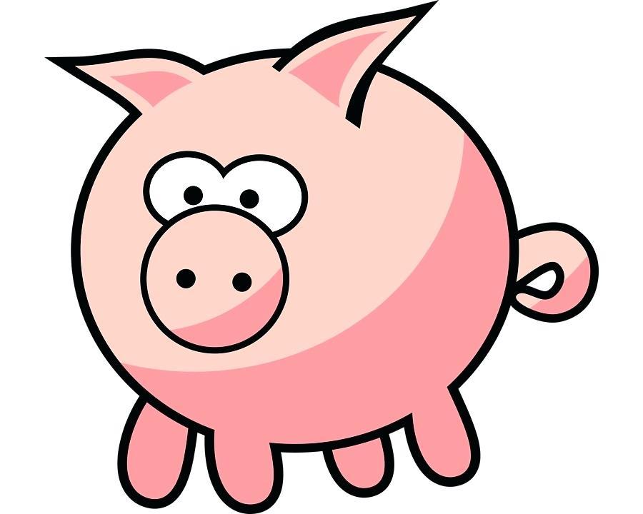 900x720 Pig Drawing Cartoon Miniature Pig Cartoon Drawing Clip Art Anime