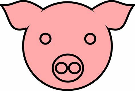 474x319 pig face drawing pig face drawing pig drawing at psgs fiegrades