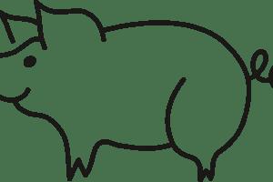 300x200 Pig Drawing Clipart Clipart Portal