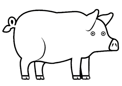 400x283 Pig Coloring Pages