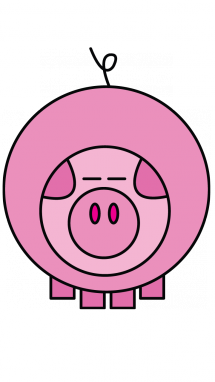 215x382 Drawing Of A Pig For Toddlers Teaching Drawings, Drawing