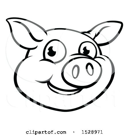 450x470 How To Draw A Simple Pig Face Cute Pig Face Paint How To Draw
