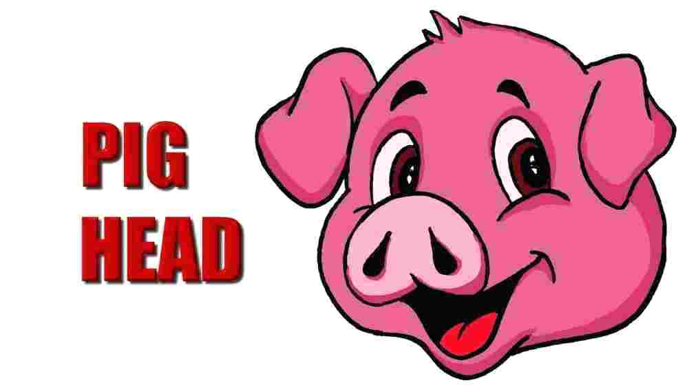 1011x569 Draw A Pig Face Download Pig Face Drawing Easy