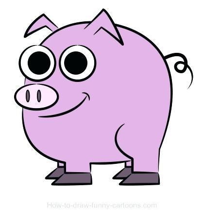 420x462 Cartoon Pig Drawing Cartoon Pig Drawing Cartoon Pig Face Drawing