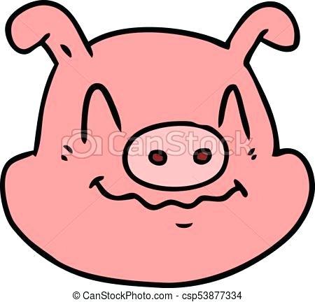 450x432 Cartoon Pig Drawing Cartoon Pig Face Cute Cartoon Pig Drawing