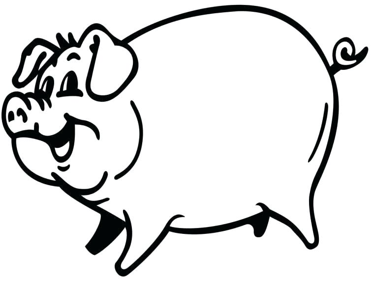 756x576 Free Pig Line Art Download Free Clip Art Free Clip Art On Pig