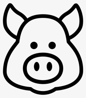 300x339 Pig Nose Drawing At Getdrawings