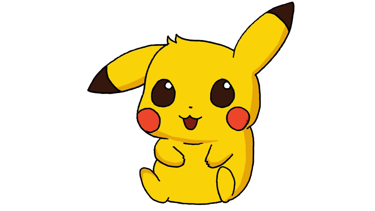 Pikachu Drawing Step By Step Easy   Free download on ...