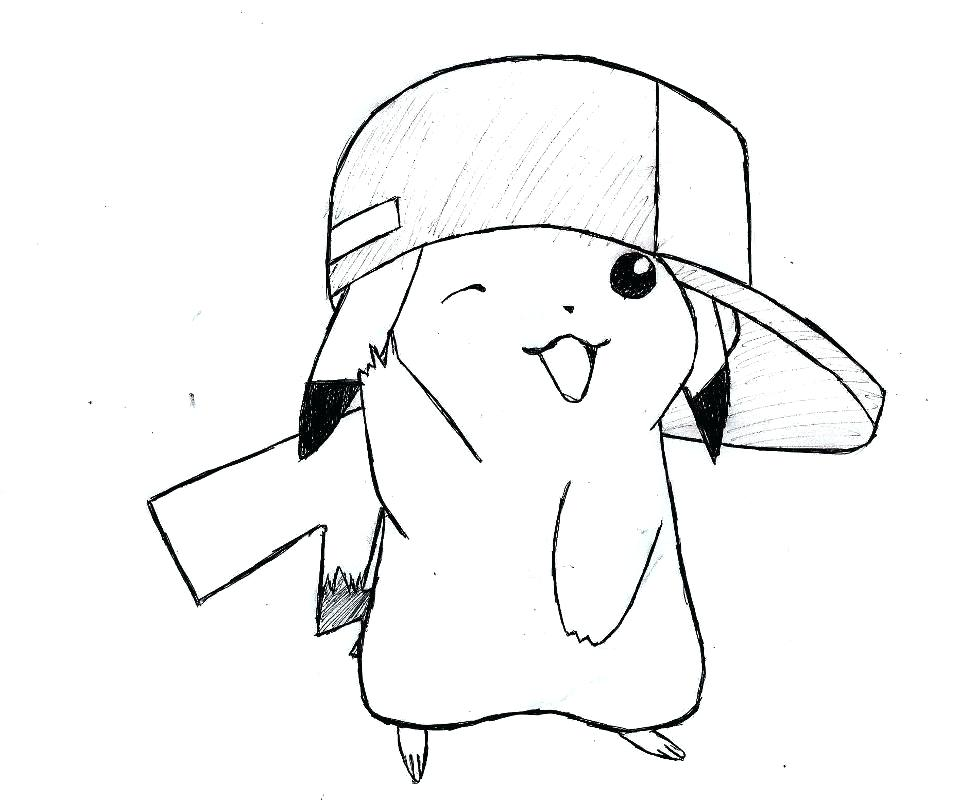 960x800 Pikachu Drawing Author Step