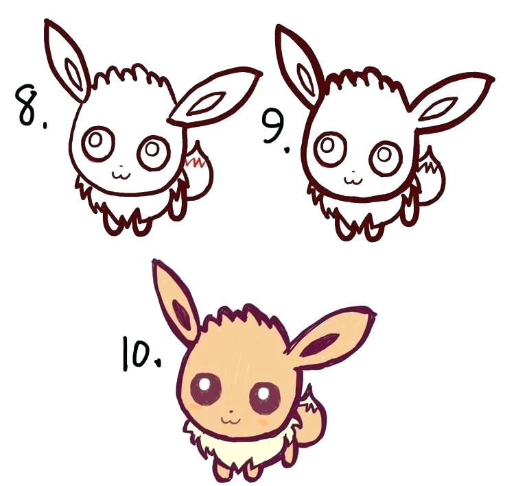 736x709 Easy Pikachu Drawing