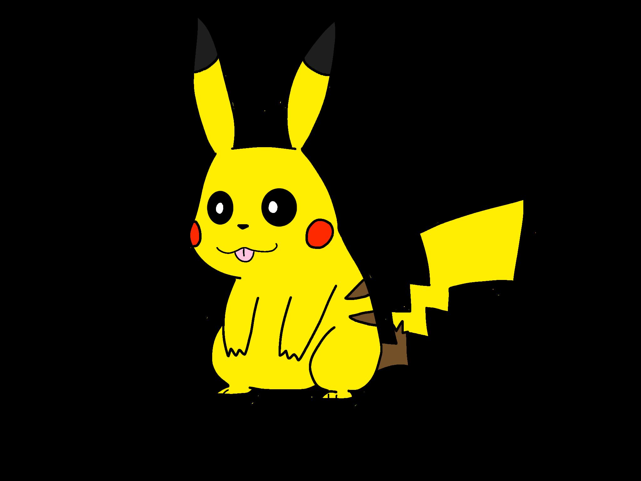2048x1536 Pikachu Drawing Pikachudrawing Pokemon Fat Chun