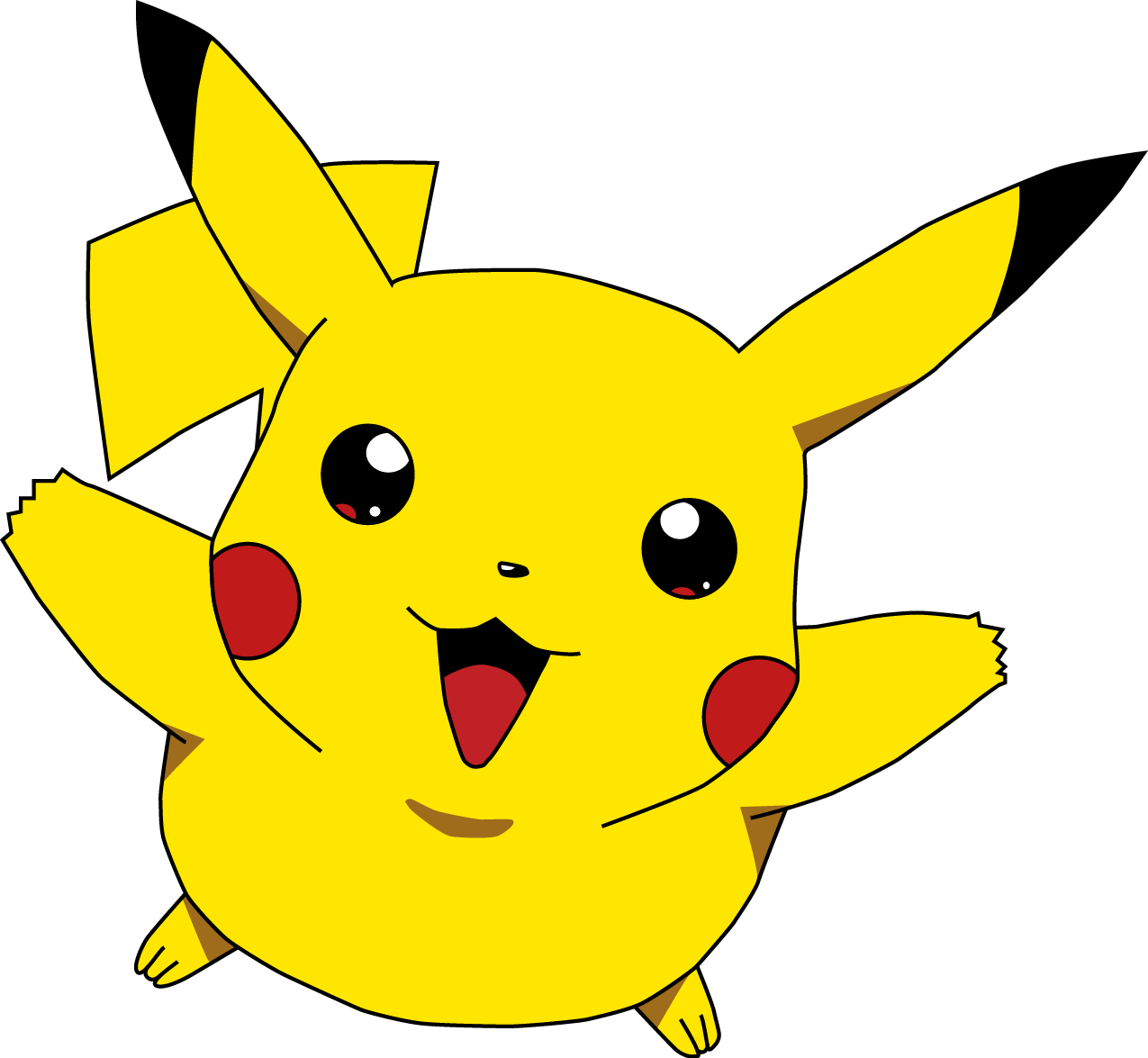 1275x1175 Collection Of Free Pikachu Drawing Anime Download On Ui Ex
