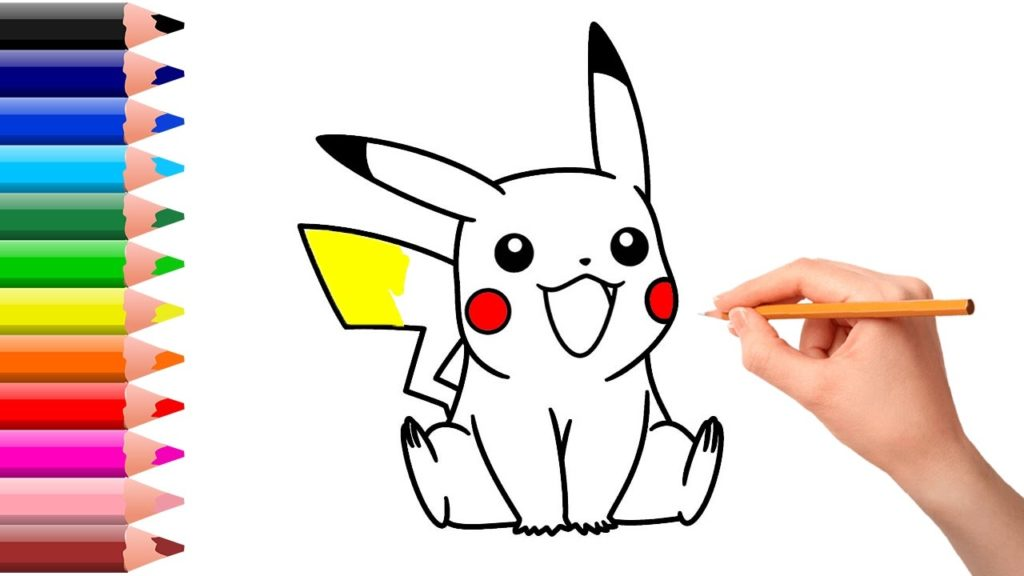 Pikachu Pencil Drawing | Free download on ClipArtMag