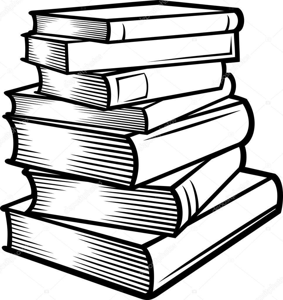 966x1024 Stack Of Books