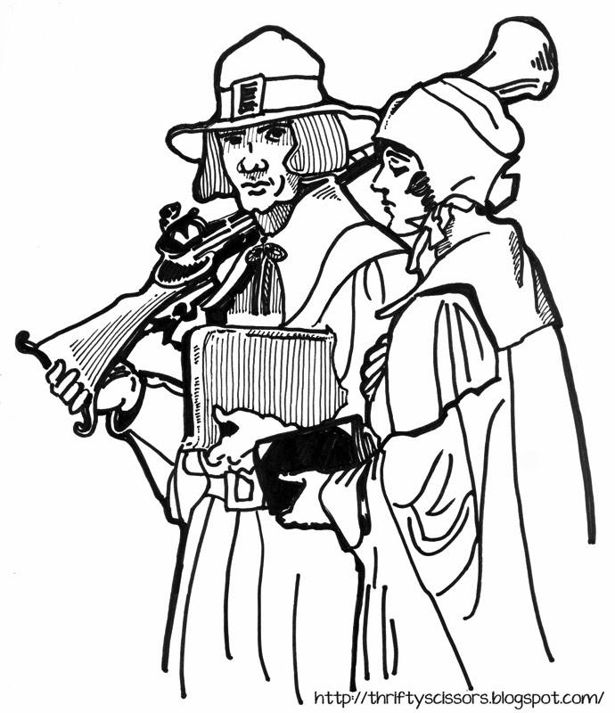 Pilgrim Drawing