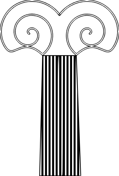 408x600 Decorative Pillar Clip Art Free Vector In Open Office Drawing