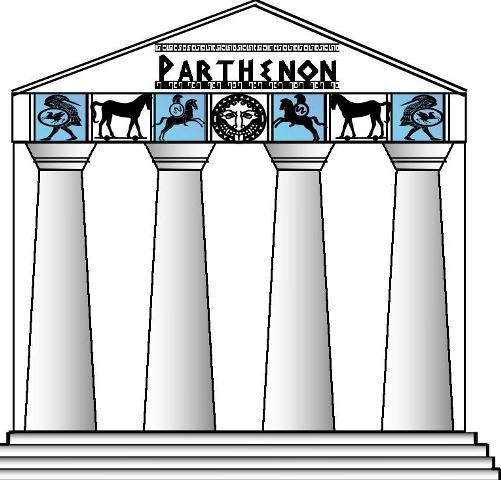 501x480 Greek Clipart Greek Pillar