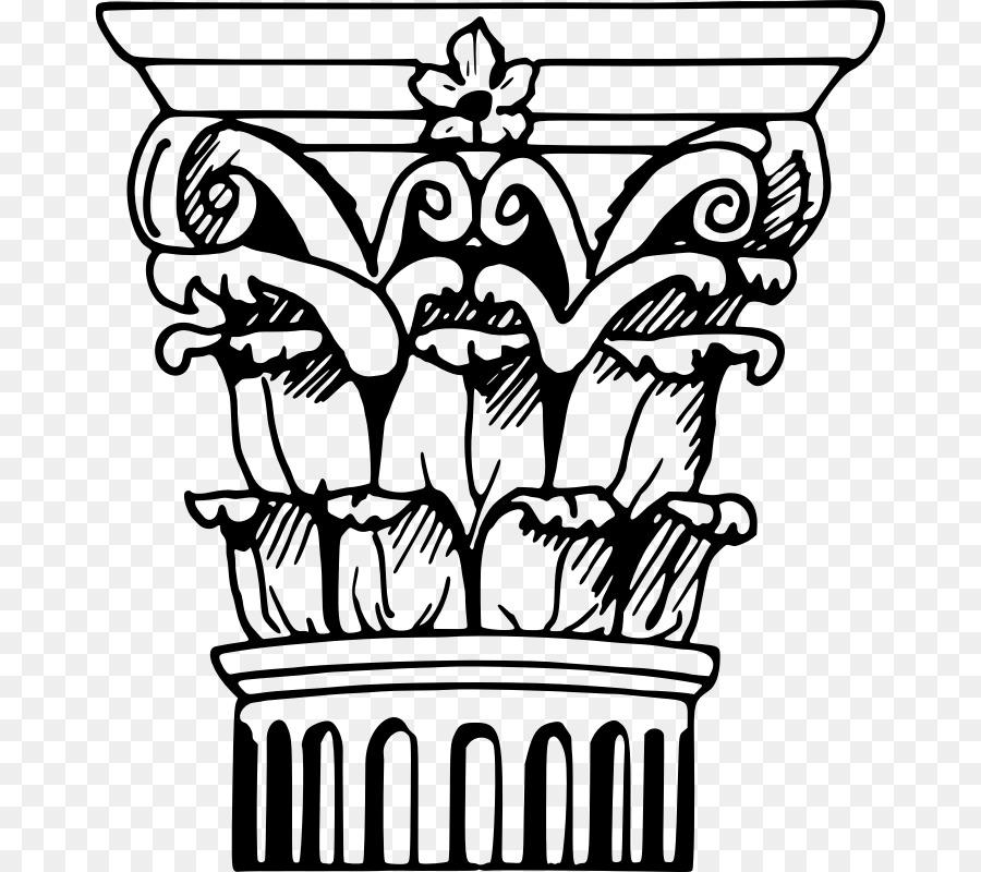 900x800 Acropolis Drawing Greek Pillar For Free Download