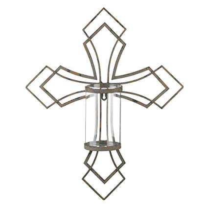 425x425 Decor And More Store Contemporary Iron Cross Design