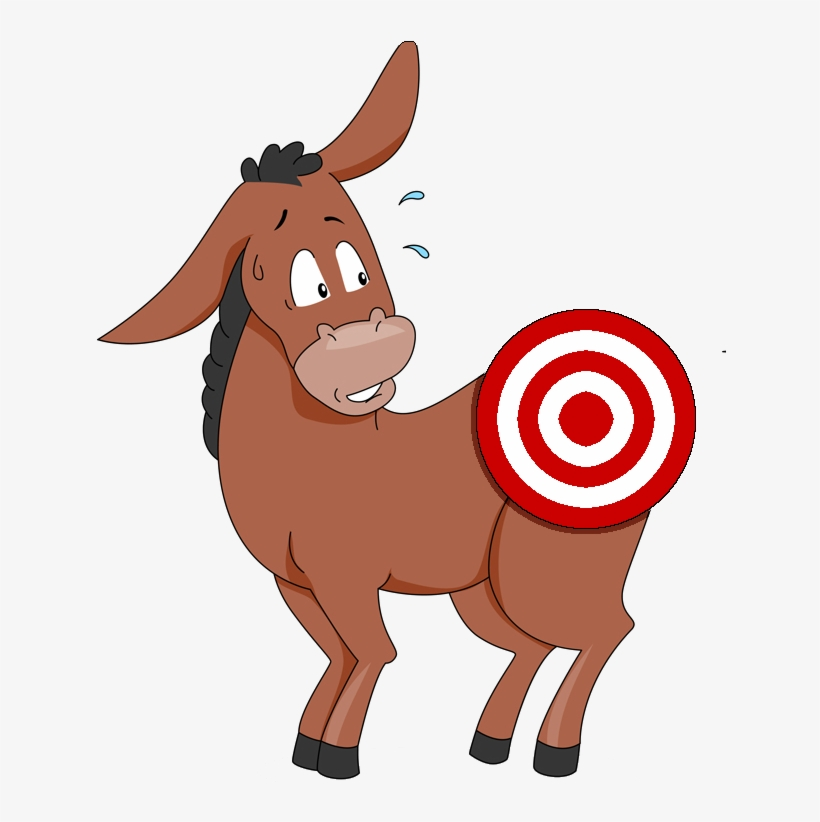 graphic relating to Pin the Tail on the Donkey Printable referred to as Pin The Tail Upon The Donkey Drawing Totally free down load least difficult Pin