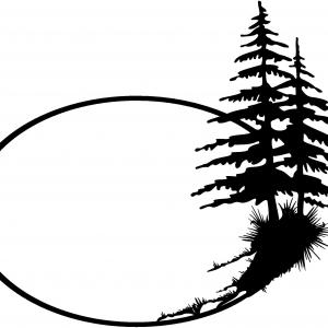 300x300 Landscape Layourt Clipart Pine Tree Collection
