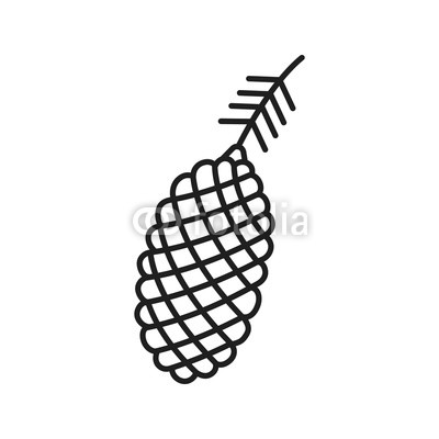 400x400 Pine Cone Linear Icon Buy Photos Ap Images Detailview