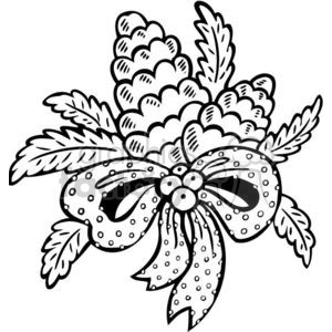 300x300 Christmas Pine Cones Clipart Royalty Free Clipart