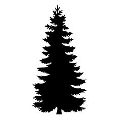 236x236 best pine tree silhouette images pine tree silhouette