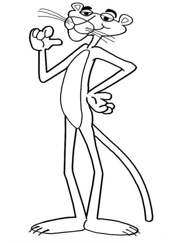 571x800 Top Pink Panther Coloring Pages For Your Toddler Cartoon