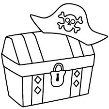 Pirate Chest Drawing