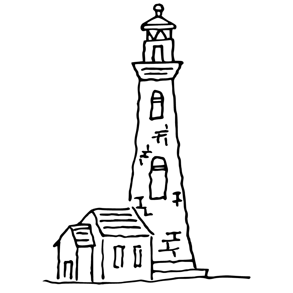 1024x1024 Lighthouse Drawing Easy For Free Download