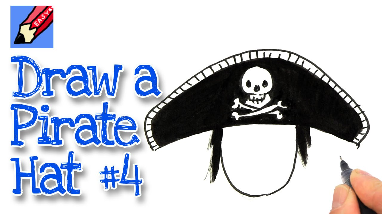 1280x720 How To Draw A Pirate Hat