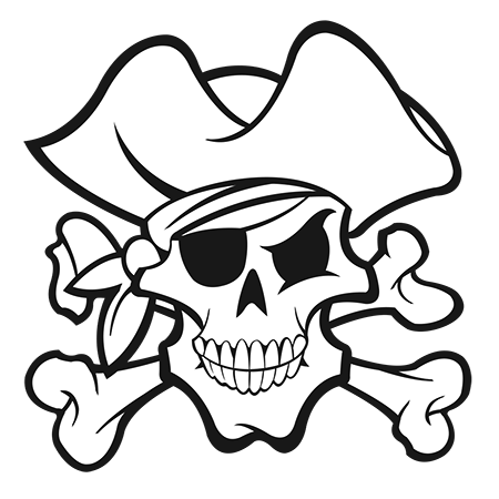 450x450 Dessin De Mort Pirate A Colorier Ideas Pirate Face
