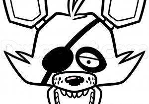 300x210 How To Draw Fnaf Foxy Easy How To Draw Plush Foxy Pirate Fnaf