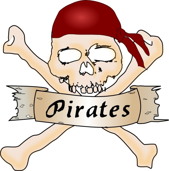 588x594 Pirate Skull Clip Art Free Vector In Open Office Drawing