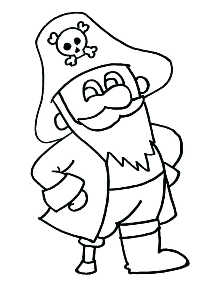 750x1000 Pirates Coloring Pages Pirate Coloring Pages For Kindergarten