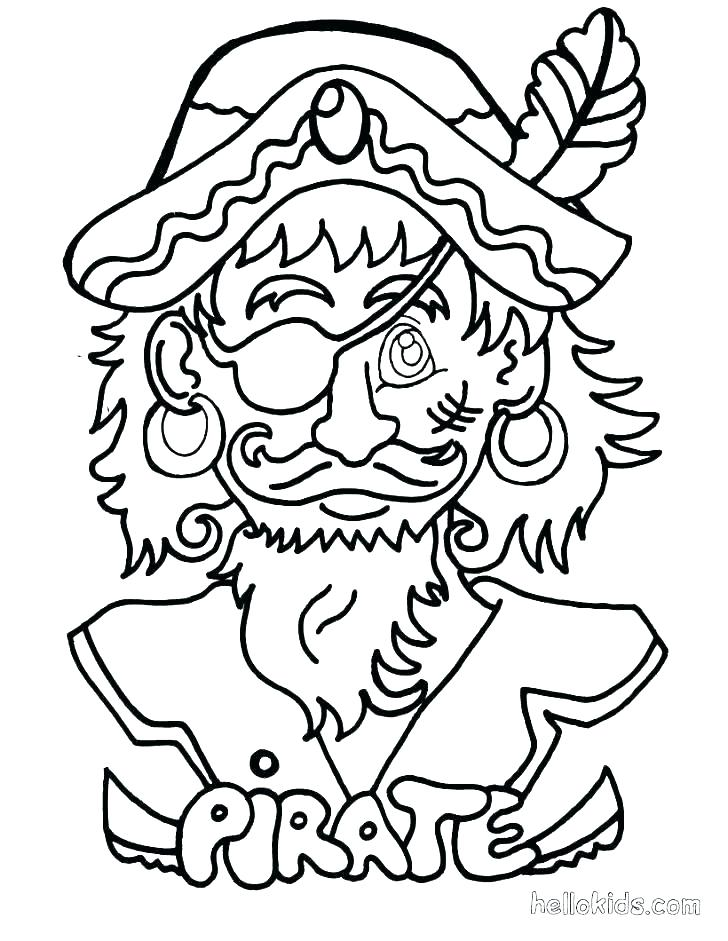 728x941 Pirate Parrot Coloring Pages Pirates Free Pics Pittsbur
