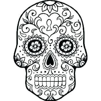 350x350 skull template printable printable skull mask sugar sugar skull