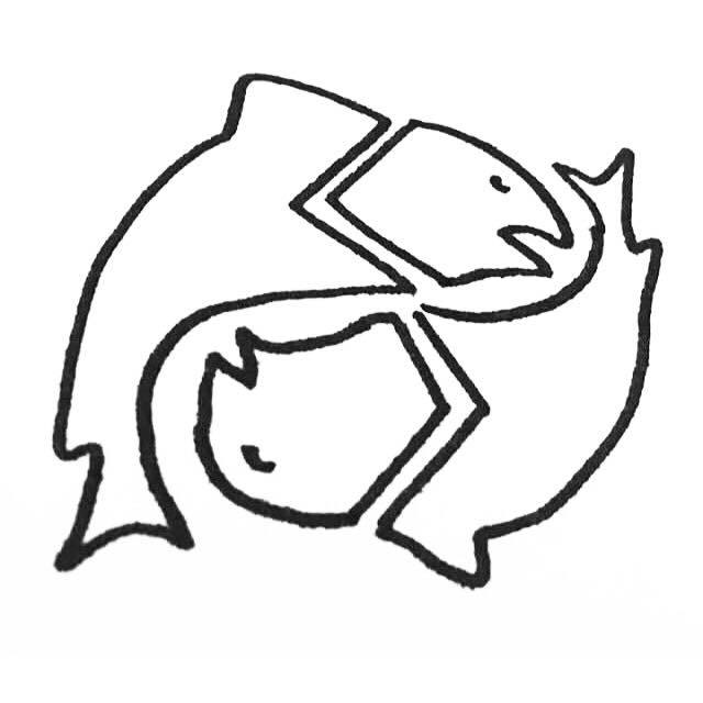 Pisces Drawing | Free download best Pisces Drawing on ClipArtMag com