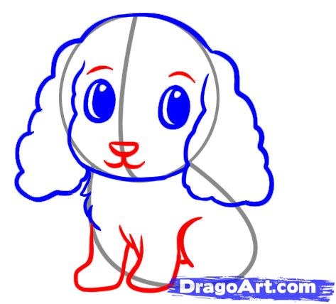 473x428 Easy Dog Face Drawing For Kids
