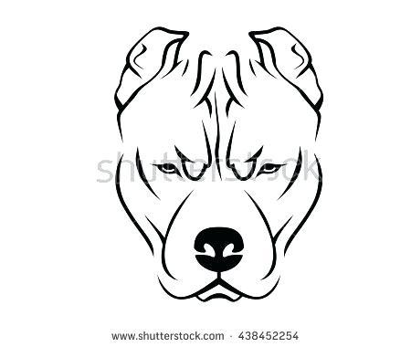 450x380 Easy Drawings Of Pitbulls Draw Pit Bull Easy To Draw Pitbull