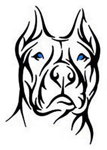 357x500 Pitbull Tattoos Simple Google Ideas And Designs