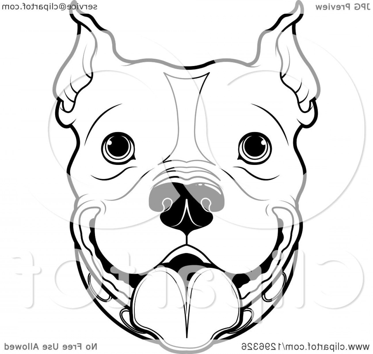 1296x1228 Pit Bull Vector Art Catchsplace