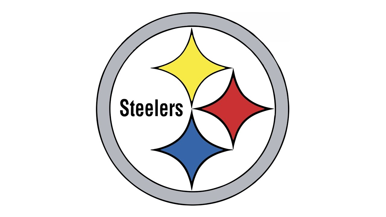 1280x720 How To Draw The Pittsburgh Steelers Logo