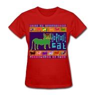 190x190 Razblint Drawings Pittsburgh Cats Dormont Cat Womens Shirt