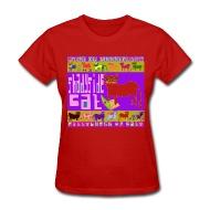 190x190 Razblint Drawings Pittsburgh Cats Shadyside Cat Womens Shirt