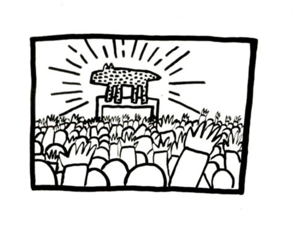 1000x773 Visual Aids Keith Haring