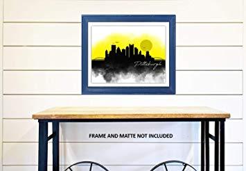 355x246 Ramini Brands Pittsburgh Skyline Drawing
