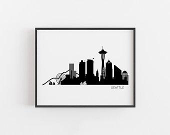 340x270 Skyline Art Etsy