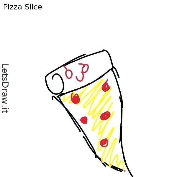 600x600 pizza draw more pizza drawings pizza drawing cute